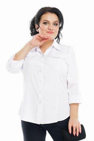 Блузка-Рубашка- полный 60-62р-р