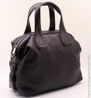 Женская кожаная сумка 330 Коричневый коричневый