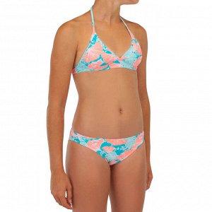 Купальник Раздельный купальник с завязкой-хомутиком отлично учитывает особенности телосложения серфингисток: регулировка завязки на шее обеспечивает хорошую фиксацию в воде.