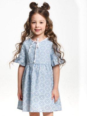 Платье (98-122см) UD 6323(2)голубой