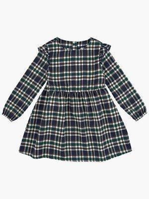 Платье (98-122см) UD 6826(2)кл зелен