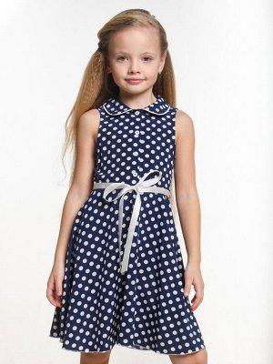 Платье UD 6257 синий