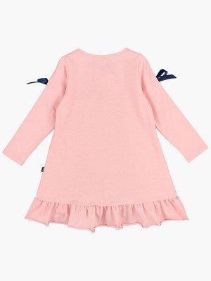 Платье (98-122см) UD 4987(1)крем-розовый