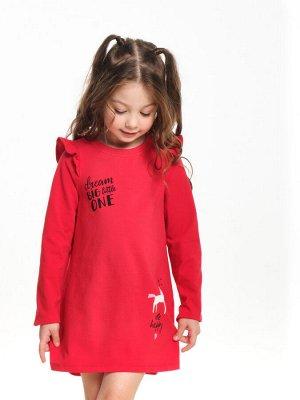 Платье (98-116см) UD 6107(4)красный