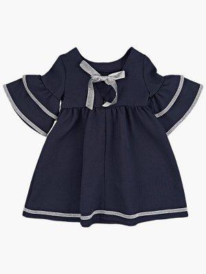 Платье (98-122см) UD 7017(1)т.синий