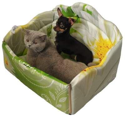 Кот&Пес- товары для усатых и лохматых    — Лежаки — Лежанки и домики