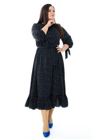 Платье-4136