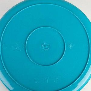 Таз круглый, особо прочный, 24 л, цвет МИКС