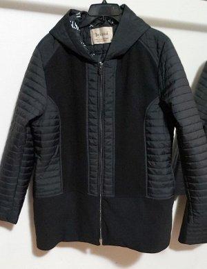 Пальто стёганое на флисе