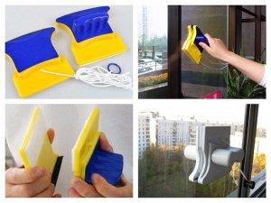 Щетка-магнит для мытья окон