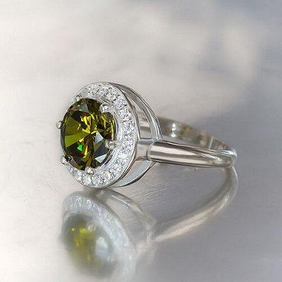 Серебряные украшения, изготовленные вручную именно для вас — Кольцо #8