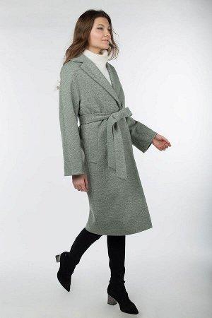 """Пальто женское демисезонное """"Classic Reserve"""" (пояс)"""