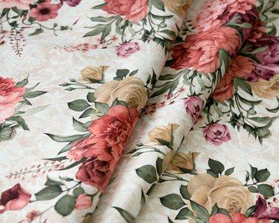 Обивка №10🛋 Ткани мебельные / Кожзам/Ковры/Подушки. [ARBEN] — Ткань принт мебельная MIKAELA (микрофибра) — Ткани