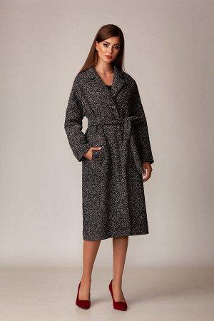 Пальто Пальто Rosheli 732 серый  Состав ткани: ПЭ-100%;  Рост: 164 см.  Пальто из мягкой пальтовой ткани на подкладке. Современный силуэт, мягкость и фактура ткани делают пальто необыкновенно комфорт