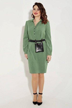 Платье Платье Angelina & Company  322 лаймовый  Состав ткани: ПЭ-24%; Хлопок-74%; Лайкра-2%;  Рост: 164 см.  Эксклюзивное, стильное, молодежное платье,выполнено из высококачественной вельветовой ткан