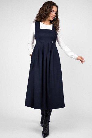 Сарафан Teffi style 1466 синий