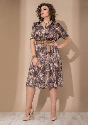 Платье Платье Galean Style 749  Состав ткани: ПЭ-100%;  Рост: 164 см.  Длина платья 115 см  Длина рукава 27 см