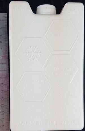 Аккумулятор холода (0.4л. 160х95х38мм)
