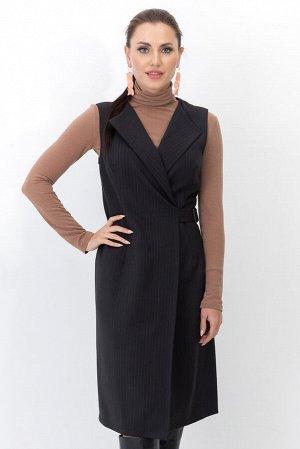 Платье - жилет Вествуд (полоска серый) П1259-5