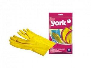 """""""YORK"""" Перчатки хозяйственные, размер M, 092020"""