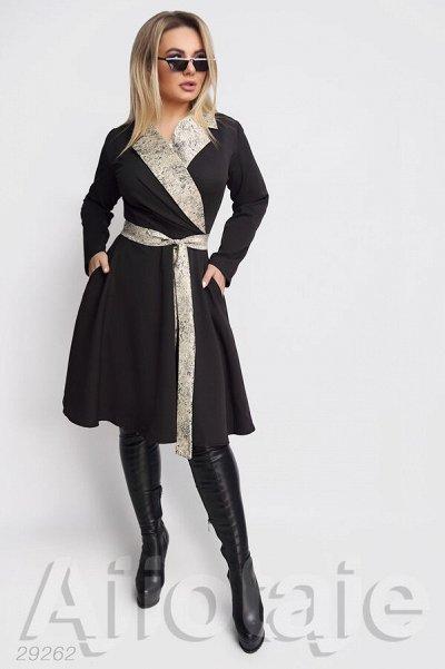 AJIOTAJE-женская одежда. До 62 размера — Платья средней длины 48+ (2) — Платья