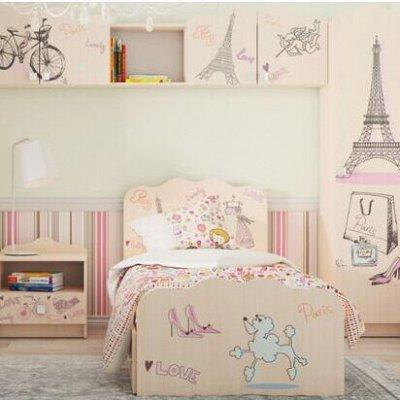 Новая, невероятно стильная мебельная коллекция АРТ — Мебель для маленьких мечтательниц ПАРИЖ — Детская