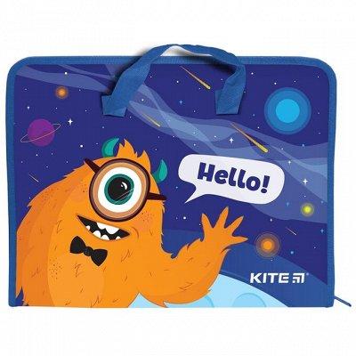 KITE&Axent: первоклассные рюкзаки и яркая канцелярия! — Папки и портфели для бумаги KITE — Домашняя канцелярия
