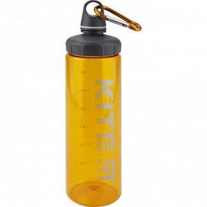 Бутылочка для воды Kite K19-406-07, 750 мл, оранжевая