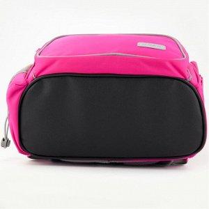 Набор рюкзак + пенал + сумка для обуви K 702 розовый