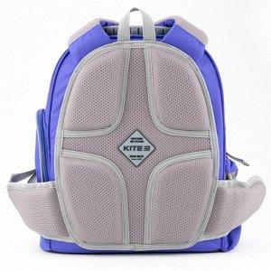 Набор рюкзак + пенал + сумка для обуви K 702 синий