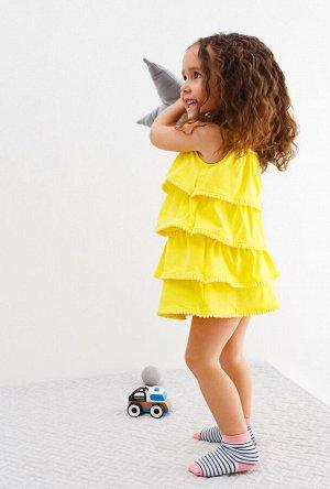 Платье детское для девочек Terra1 желтый