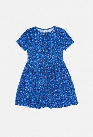 Платье детское для девочек Paolina синий