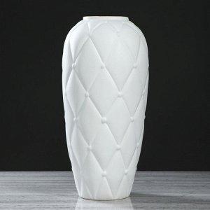 "Ваза напольная ""Сигара"". матовая. 46.5 см. керамика"