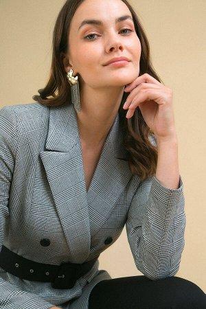 #93887 Жакет (Emka Fashion) Серый