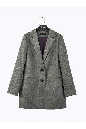 #94614 Пиджак (Emka Fashion) Серый