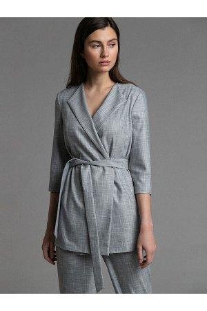 #94093 Жакет (Emka Fashion) Серый