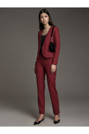 #94075 Жакет (Emka Fashion) бордовый