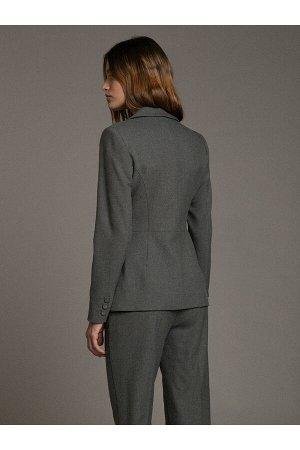 #94054 Жакет (Emka Fashion) Серый