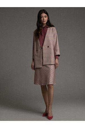 #94045 Жакет (Emka Fashion) розовый