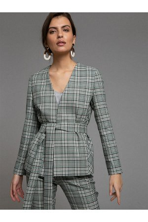 #94003 Жакет (Emka Fashion) Серый