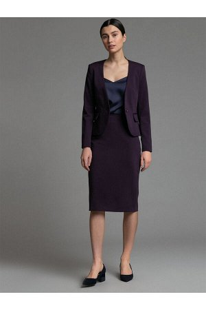 #93976 Жакет (Emka Fashion) фиолетовый