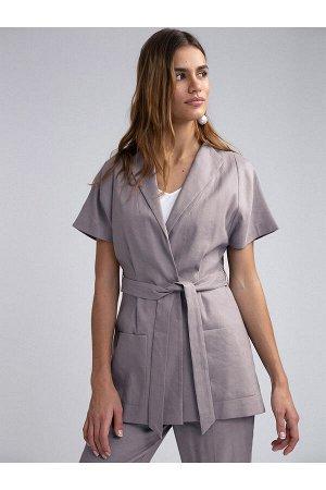 #93959 Жакет (Emka Fashion) мокко