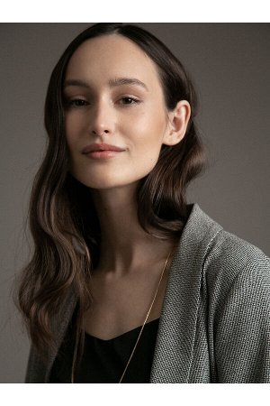 #93907 Жакет (Emka Fashion) Серый