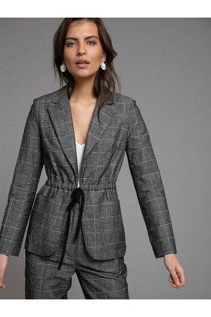 #93868 Жакет (Emka Fashion) темно-серый