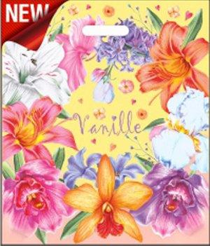 """Пакет ПВД с вырубной ручкой """"Ваниль"""""""