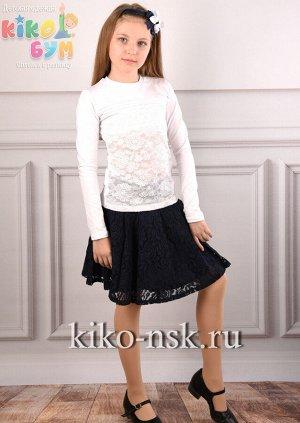 7293 Блуза школьная хлопок