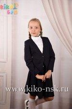 701240 Пиджак для девочки Moda Lora