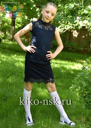 702837 Юбка школьная для девочки Moda Lora