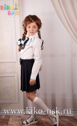 7369 Блуза школьная хлопок