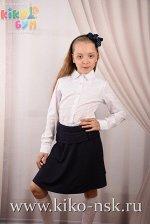 7359 Блуза школьная хлопок